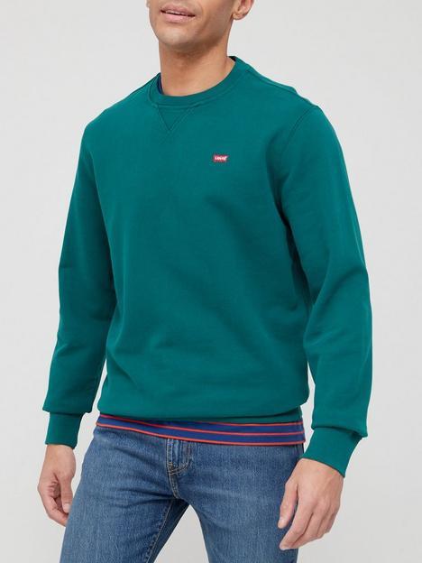 levis-original-crew-neck-sweatshirt-green
