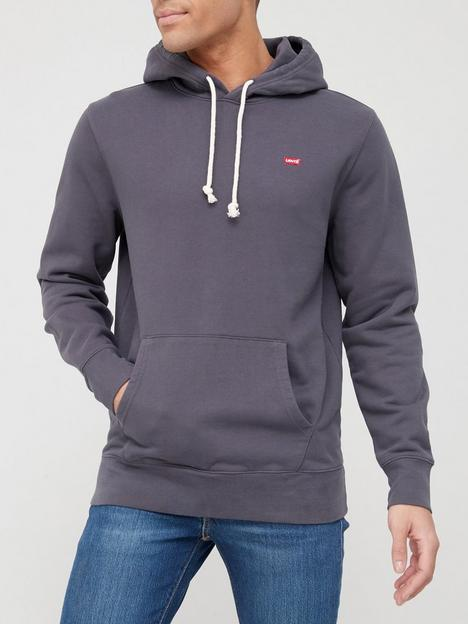 levis-original-hoodie-blackgrey