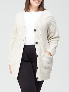 v-by-very-curve-button-through-cardigan-oatmeal