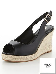 v-by-very-phoebe-wide-fit-slingback-wedge-sandal-black