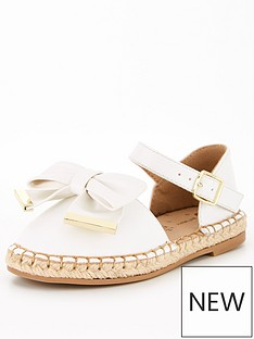 v-by-very-girls-2-part-bow-espadrille-white