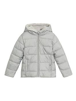 mango-girls-padded-coat-grey