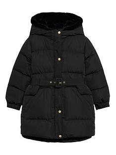 mango-girls-belted-padded-coat-black