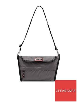 hunter-original-packable-cross-body-bag-grey