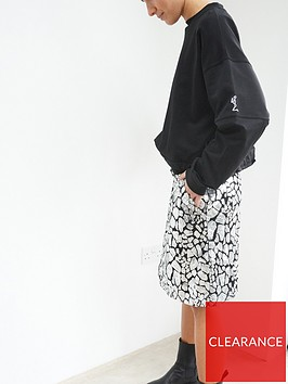 religion-sequin-mini-skirt-silver