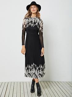 mint-velvet-ava-placement-print-jersey-column-midi-dress-black