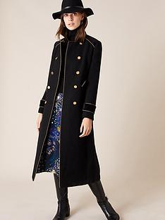 monsoon-maddie-military-coat-black