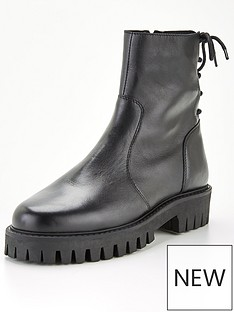 office-abound-back-ankle-boot-black