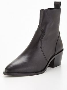 office-asher-ankle-boot-black