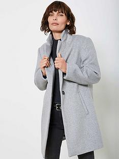 mint-velvet-easy-boyfriend-coat-silver