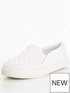 v-by-very-alvin-weave-slip-on-trainer-white