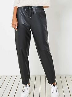 mint-velvet-faux-leather-joggers-black