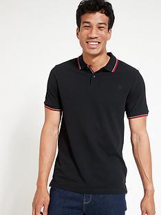 very-man-tipped-pique-polo-shirt-black