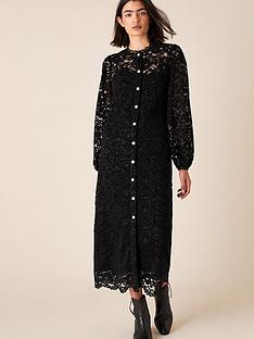 monsoon-monsoon-francesca-flocked-lace-shirt-dress