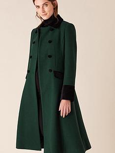 monsoon-opera-skirted-coat-green