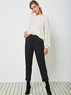 mint-velvet-coated-tencel-jogger-black