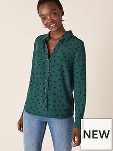 monsoon-star-print-sustainable-shirt