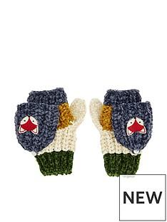monsoon-boys-fox-stripe-jake-chenille-capped-gloves-multi