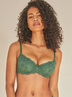 pour-moi-forest-love-underwired-demi-plunge-green