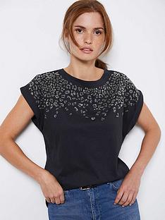 mint-velvet-studded-leopard-t-shirt-grey