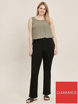 evans-straight-leg-jeans-black