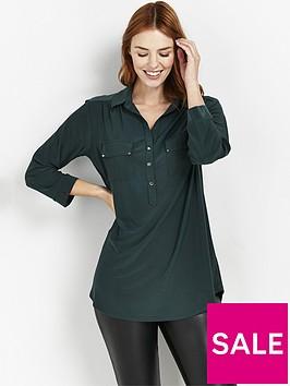 wallis-plain-ity-shirt-green