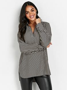 wallis-stripe-shirt-black