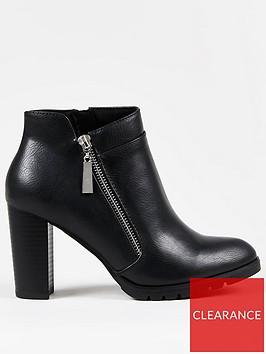 wallis-chunky-tread-side-zip-blacknbsp