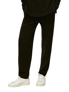 whistles-ribbed-knitted-jogger-blacknbsp