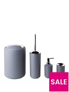 sabichi-grey-matte-bathroom-4pc-accessory-sets