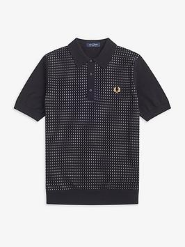 fred-perry-knitted-polo-jumper-black