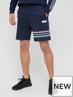 hugo-dakumi-tape-logo-jersey-shorts-navy