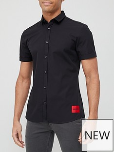 hugo-epson-w-red-patch-logo-short-sleeve-shirt-blacknbsp