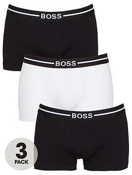 boss-bodywear-3-pack-organic-trunks-black-white