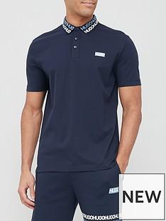 hugo-damago-collar-detail-polo-shirt-dark-bluenbsp