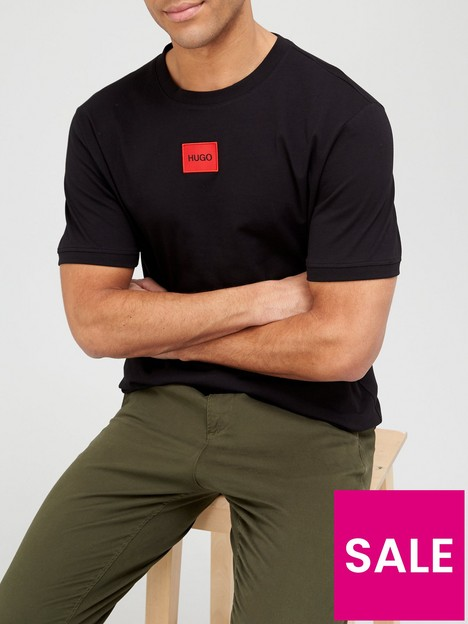 hugo-diragolino-red-patch-logo-t-shirt-blacknbsp