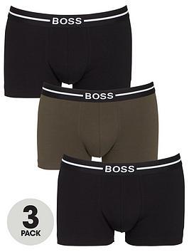 boss-bodywear-3-pack-organic-trunks-black-khaki