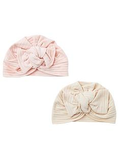 river-island-baby-girls-2-pack-turbans--nbsppink