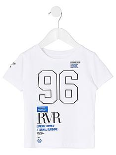 river-island-mini-mini-boys-rvr-printed-short-sleevenbspt-shirtnbsp-nbspwhite