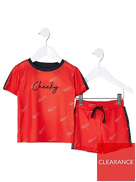 river-island-mini-boys-2-piece-cheeky-shorts-and-short-sleeve-t-shirt-lounge-setnbsp--red