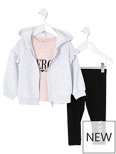 river-island-mini-girls-3-piece-hoodie-set--nbspgrey