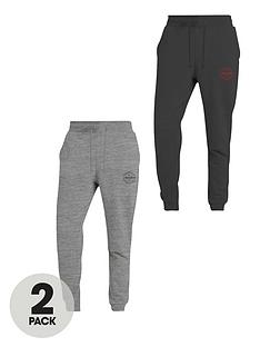 jack-jones-2-pack-jersey-skinny-fit-joggers-greyblack