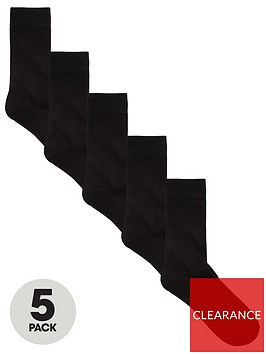 jack-jones-jacjens-sock-5-pack-black