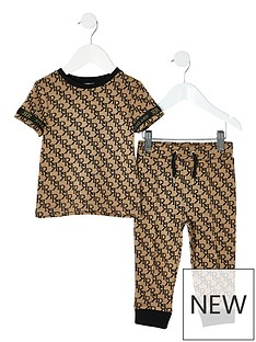river-island-mini-boys-all-over-print-t-shirt-and-jognbsppants--nbspbeige