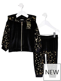 river-island-mini-girls-velour-sparkle-tracksuitnbsp-nbspblack
