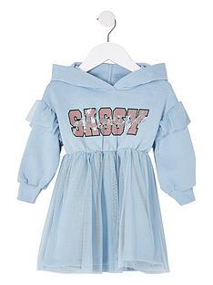 river-island-mini-mini-girls-sassy-hoodie-blue