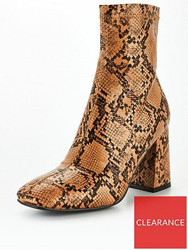 public-desire-addict-ankle-boots-snake