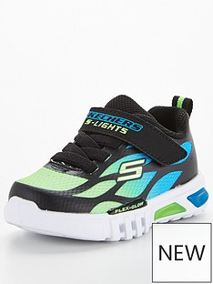 skechers-toddler-flex-glow-trainer-blue