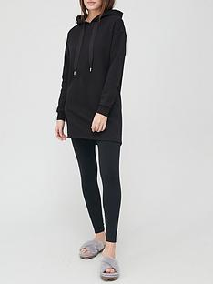 v-by-very-hoodie-dress-black