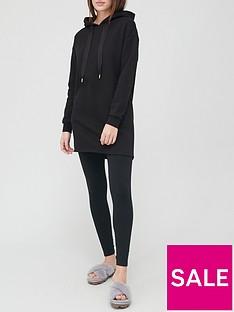 v-by-very-hoodie-dress-black